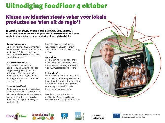 A4-flyer - jpg 600 Uitnodiging FoodFloor Korte Keten op 4 oktober