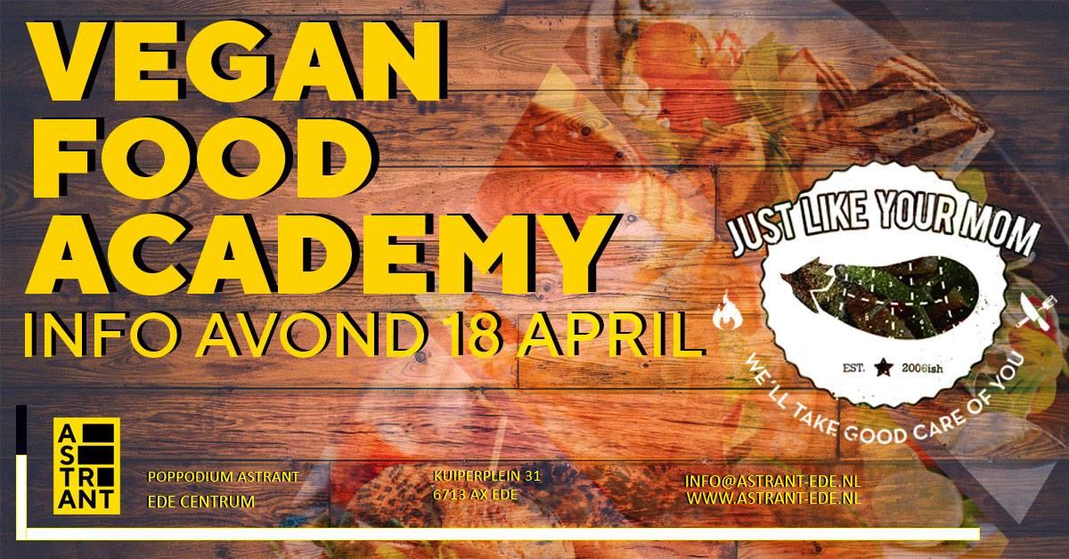 astrant vegan food academy