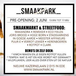 Pre-opening SmaakPark 2 juni